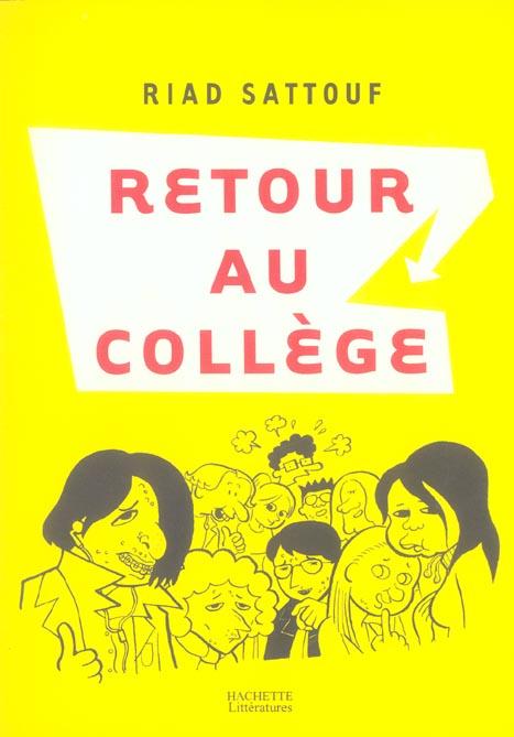 RETOUR AU COLLEGE