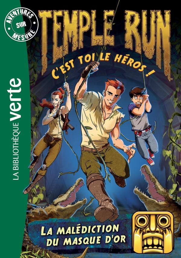Temple Run 02 - La malédiction du masque d'or