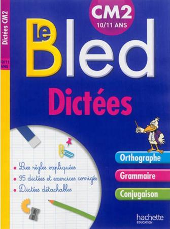 CAHIER BLED DICTEES CM2