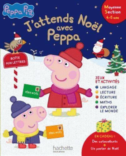J'ATTENDS NOEL AVEC PEPPA PIG MS