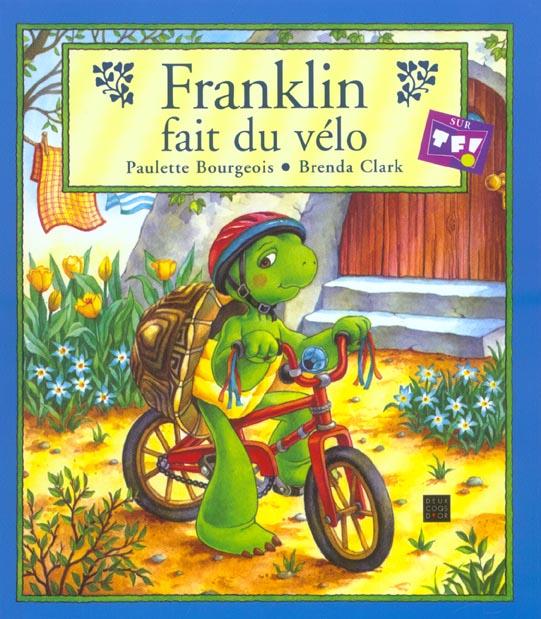 FRANKLIN FAIT DU VELO