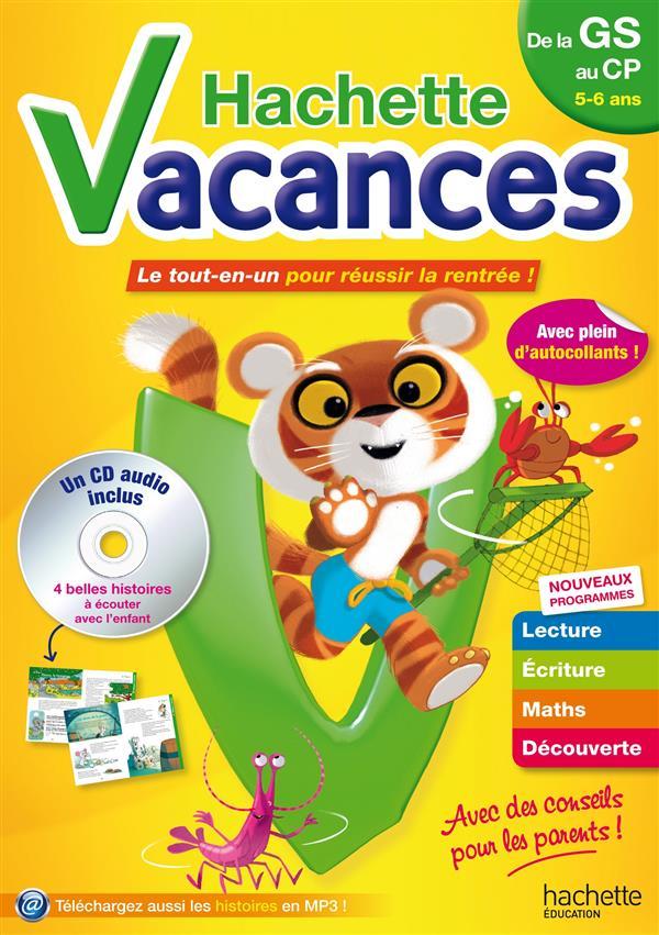 HACHETTE VACANCES - DE GS A CP - 5/6 ANS