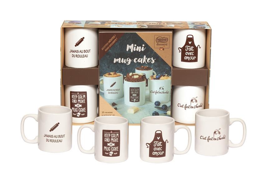 COFFRET MINI MUGS NESTLE - NED