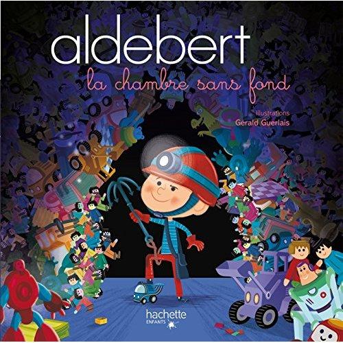 ALDEBERT RACONTE - LA CHAMBRE SANS FOND / LIVRE CD