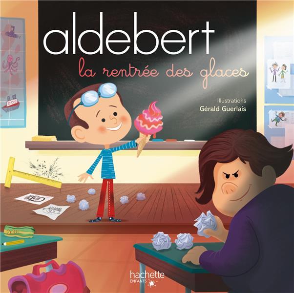ALDEBERT - LA RENTREE DES GLACES / LIVRE CD