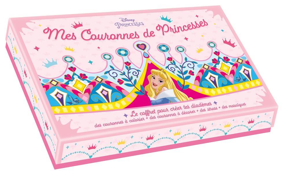 DISNEY PRINCESSES - COFFRET COURONNES DE PRINCESSES - CREE TES COURONNES DE PRINCESSES