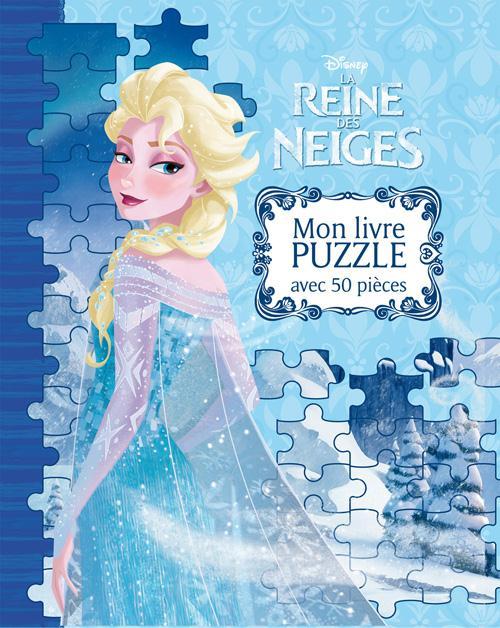 LA REINE DES NEIGES - MON GRAND LIVRE PUZZLE.