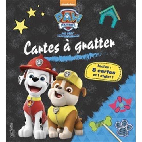 PAW-PATROL-LA PAT'PATROUILLE - CARTES A GRATTER