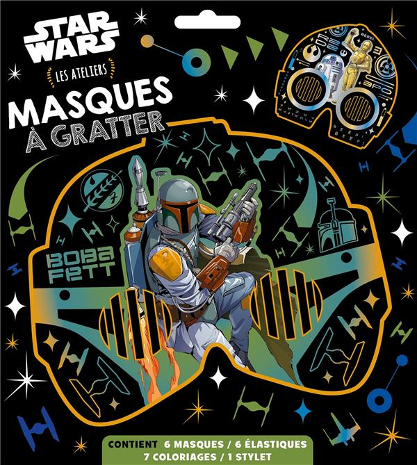 STAR WARS - LES ATELIERS DISNEY - MASQUES A GRATTER
