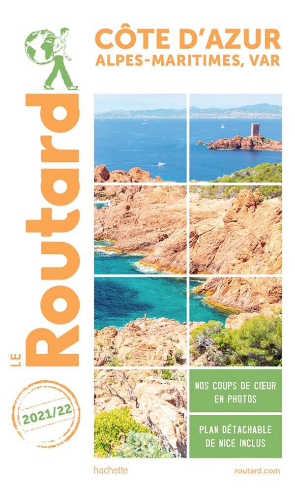 GUIDE DU ROUTARD COTE D'AZUR 2021/22