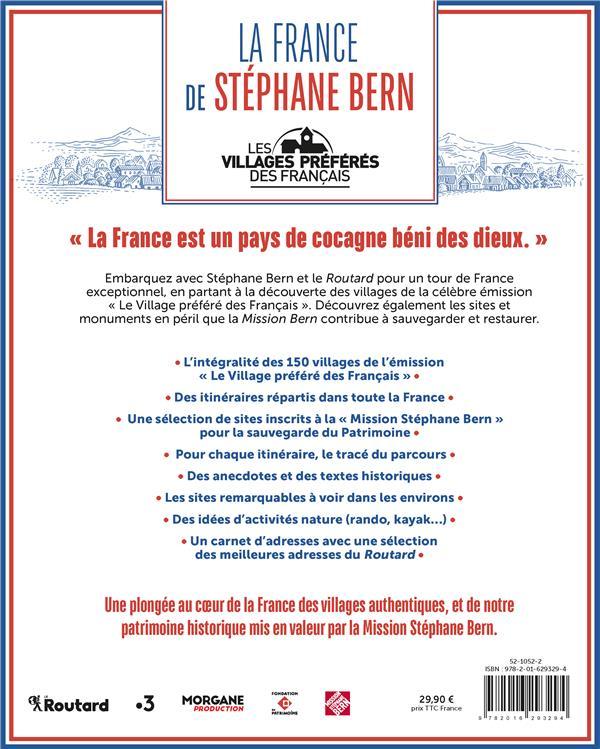 LA FRANCE DE STEPHANE BERN - LES VILLAGES PREFERES DES FRANCAIS