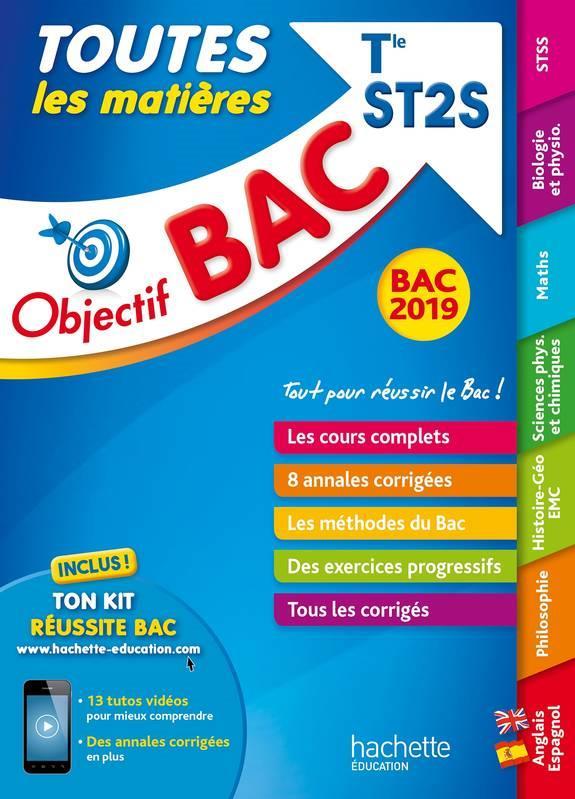 OBJECTIF BAC 2019 TOUTES LES MATIERES TLE ST2S