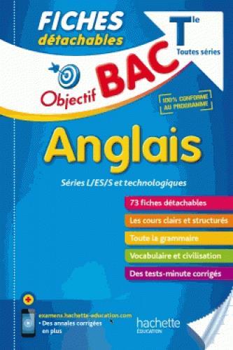 OBJECTIF BAC FICHES DETACHABLES ANGLAIS TERM L/ES/S