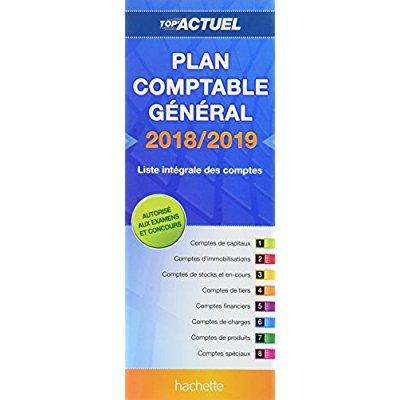 TOP'ACTUEL PLAN COMPTABLE 2018-2019