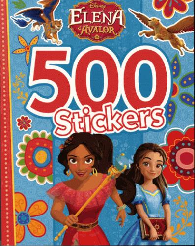 ELENA D'AVALOR, 500 STICKERS
