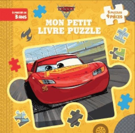 CARS 3 - MON PETIT LIVRE PUZZLE