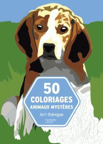 BLOC 50 COLORIAGES ANIMAUX MYSTERES