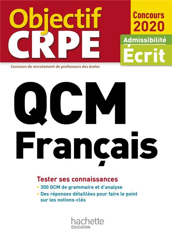 QCM CRPE : FRANCAIS 2020
