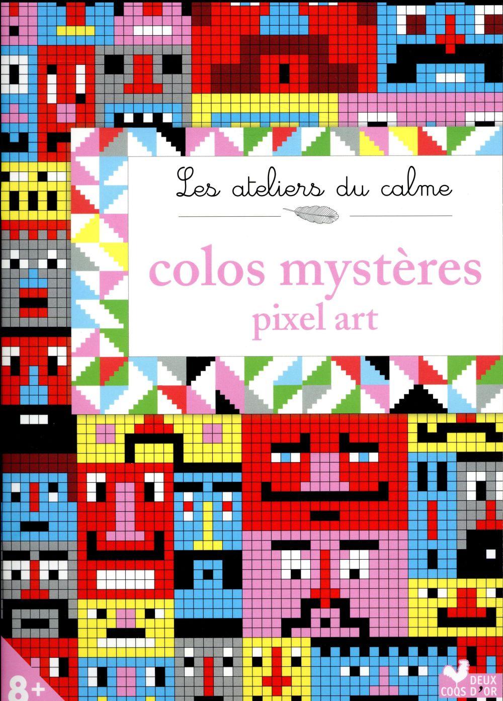 COLOS MYSTERES PIXEL ART