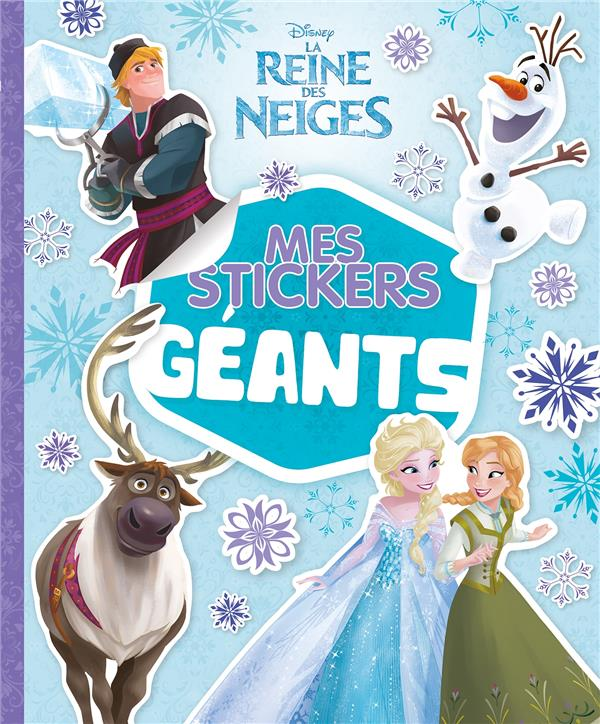 REINE DES NEIGES - MES STICKERS GEANTS - SPECIAL OLAF