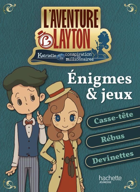 L'AVENTURE LAYTON - ENIGMES ET JEUX