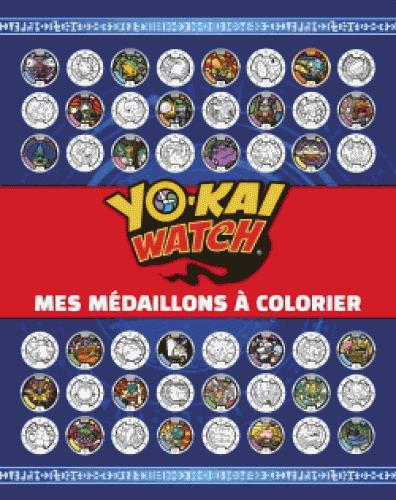 YO-KAI WATCH - MES MEDAILLONS A COLORIER