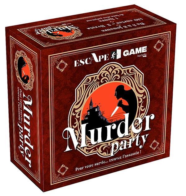 BOITE ESCAPE GAME MURDER PARTY