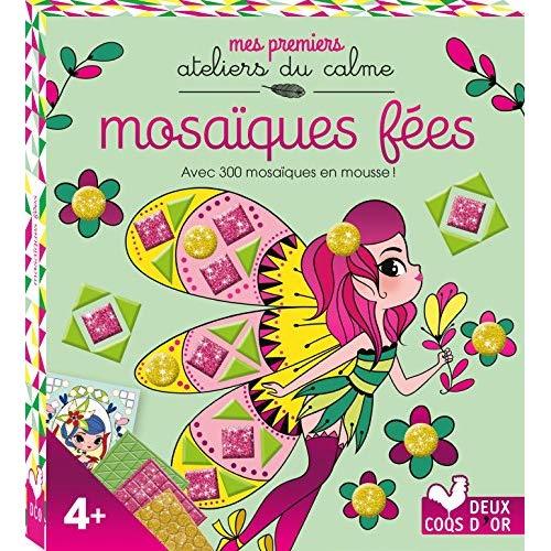 MOSAIQUES FEES - MINI BOITE AVEC ACCESSOIRES