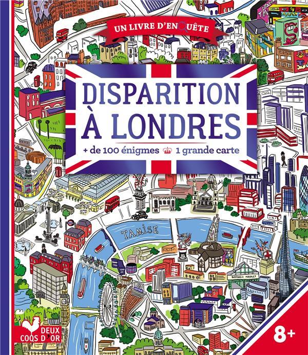 DISPARITION A LONDRES - LIVRE AVEC CARTE