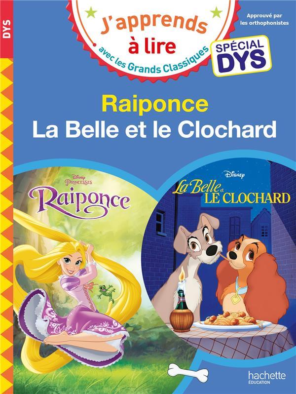 RAIPONCE/LA BELLE ET LE CLOCHARD - LECTURES DISNEY SPECIALES DYS