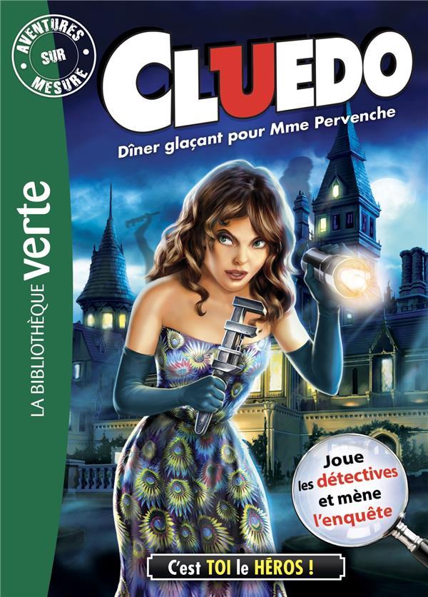 CLUEDO - T18 - AVENTURE SUR MESURE CLUEDO 18 - DINER GLACANT POUR MME PERVENCHE