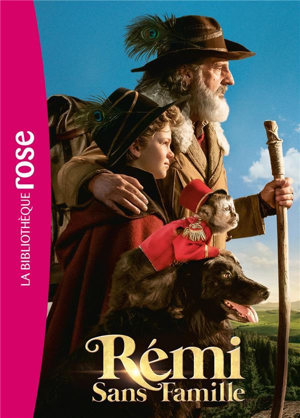 REMI SANS FAMILLE - LE ROMAN DU FILM - FILMS BB ROSE 8-10 - T0