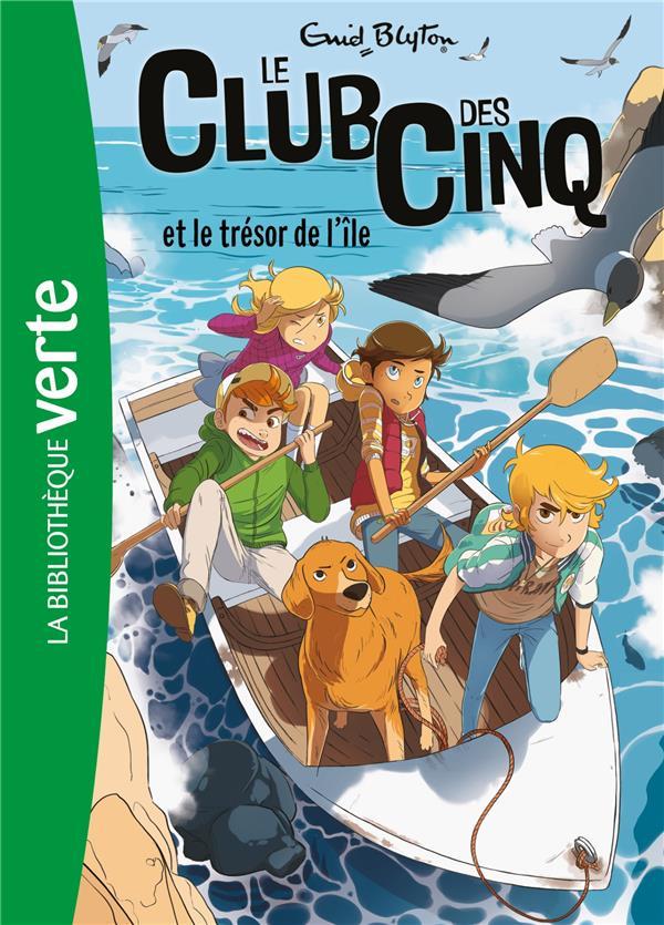LE CLUB DES CINQ 01 NED - LE CLUB DES CINQ ET LE TRESOR DE L'ILE - T1