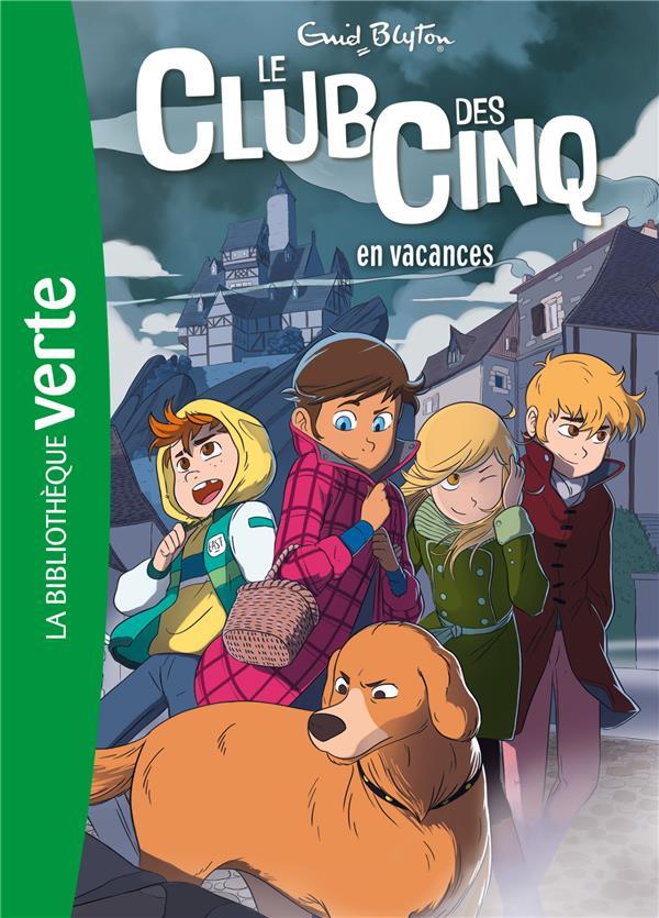 LE CLUB DES CINQ 04 NED - LE CLUB DES CINQ EN VACANCES - T4