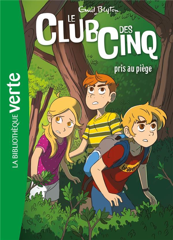 LE CLUB DES CINQ 08 NED - LE CLUB DES CINQ PRIS AU PIEGE - T8
