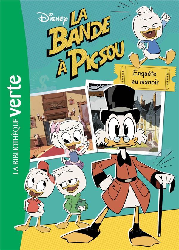LA BANDE A PICSOU 05 - ENQUETE AU MANOIR - T5