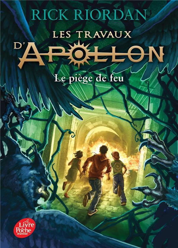 LES TRAVAUX D'APOLLON - TOME 3 - LE PIEGE DE FEU