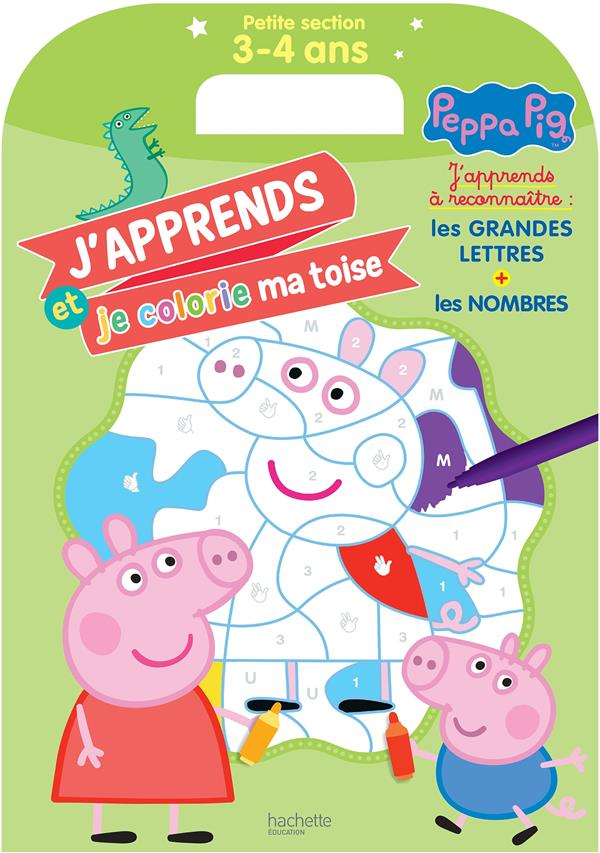 MA TOISE A COLORIER - PEPPA PIG, PETITE SECTION (3-4 ANS)