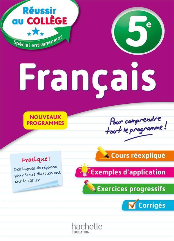 REUSSIR AU COLLEGE - FRANCAIS 5E