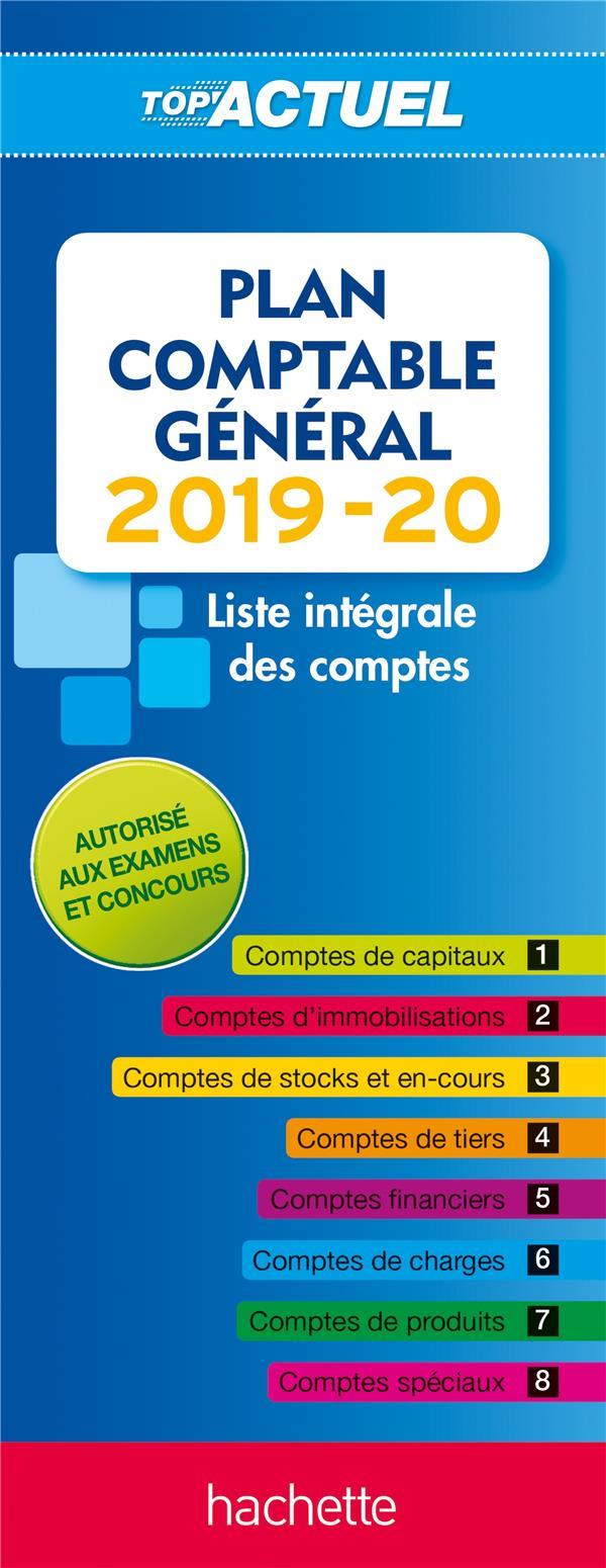 TOP'ACTUEL PLAN COMPTABLE 2019-2020