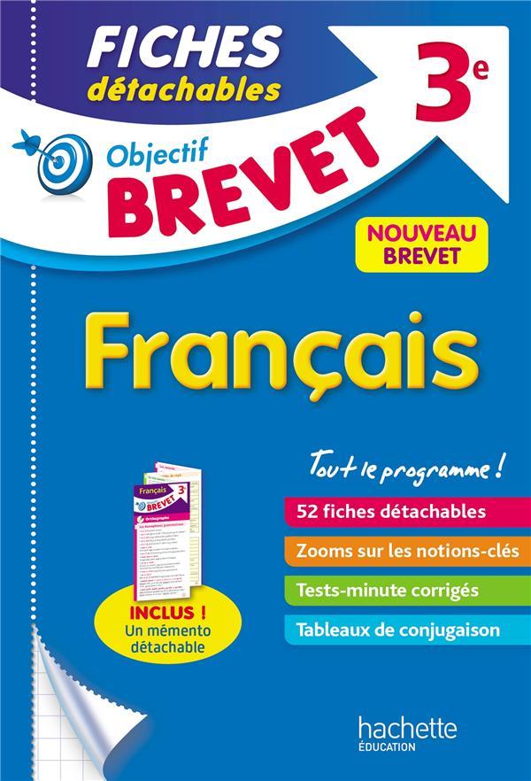 OBJECTIF BREVET 3E - FICHES DETACHABLES FRANCAIS
