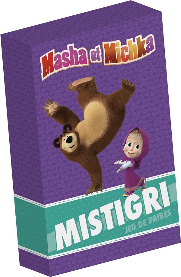 MASHA ET MICHKA- BOITE DE CARTES - MISTIGRI