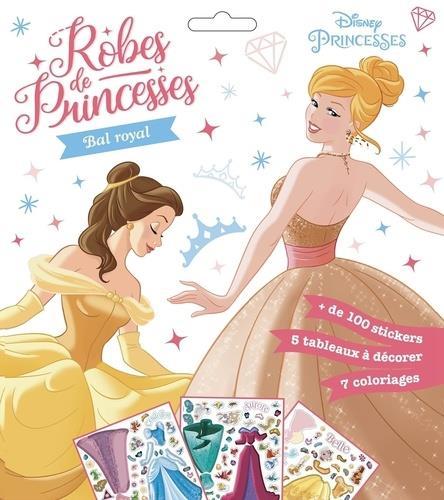 DISNEY PRINCESSES - POCHETTE PLATE - ROBES DE PRINCESSES - BAL ROYAL