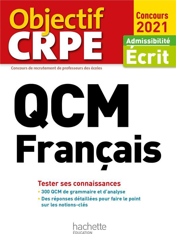 QCM CRPE : FRANCAIS 2021