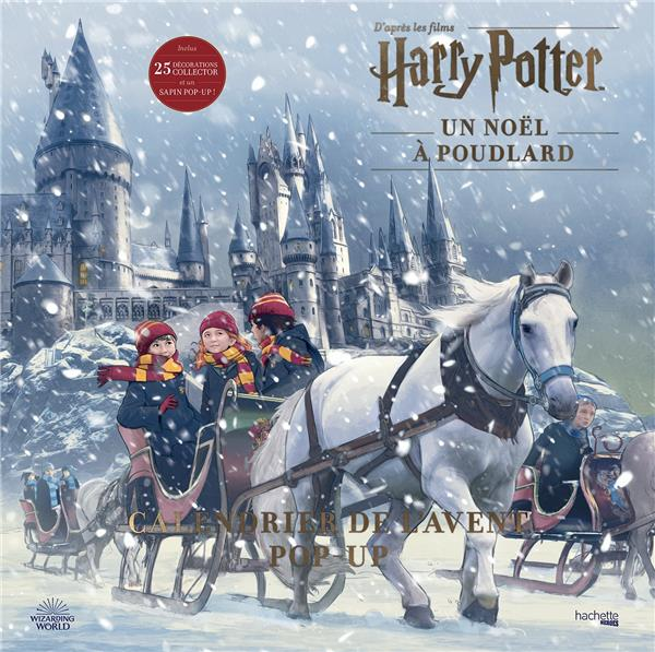 CALENDRIER DE L'AVENT POP-UP HARRY POTTER - UN NOEL A POUDLARD