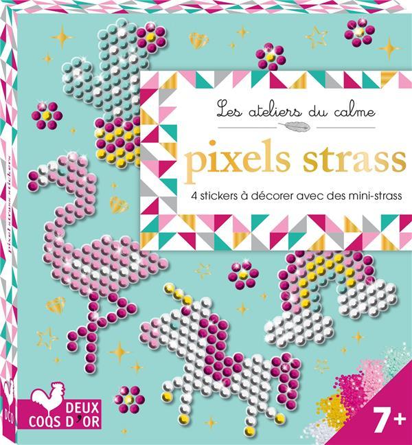 PIXELS STRASS - MINI BOITE AVEC ACCESSOIRES