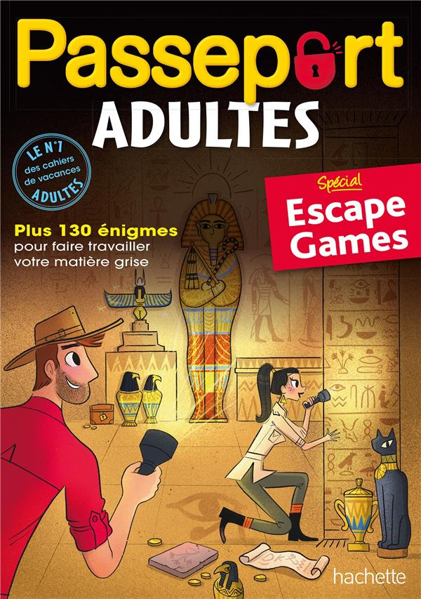 PASSEPORT - ADULTES ESCAPE GAME