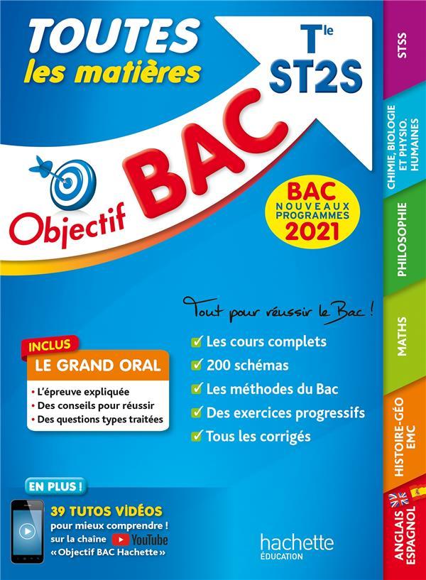 OBJECTIF BAC 2021 TOUTES LES MATIERES TERM ST2S