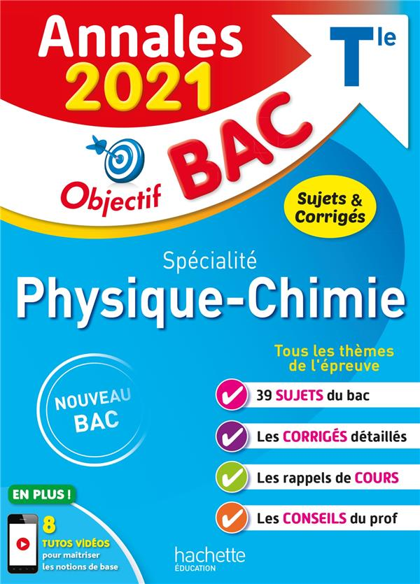 ANNALES BAC 2021 SPE PHYSIQUE CHIMIE TERM