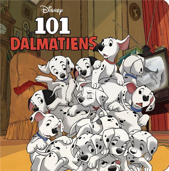 LES 101 DALMATIENS - MONDE ENCHANTE - L'HISTOIRE DU FILM - DISNEY